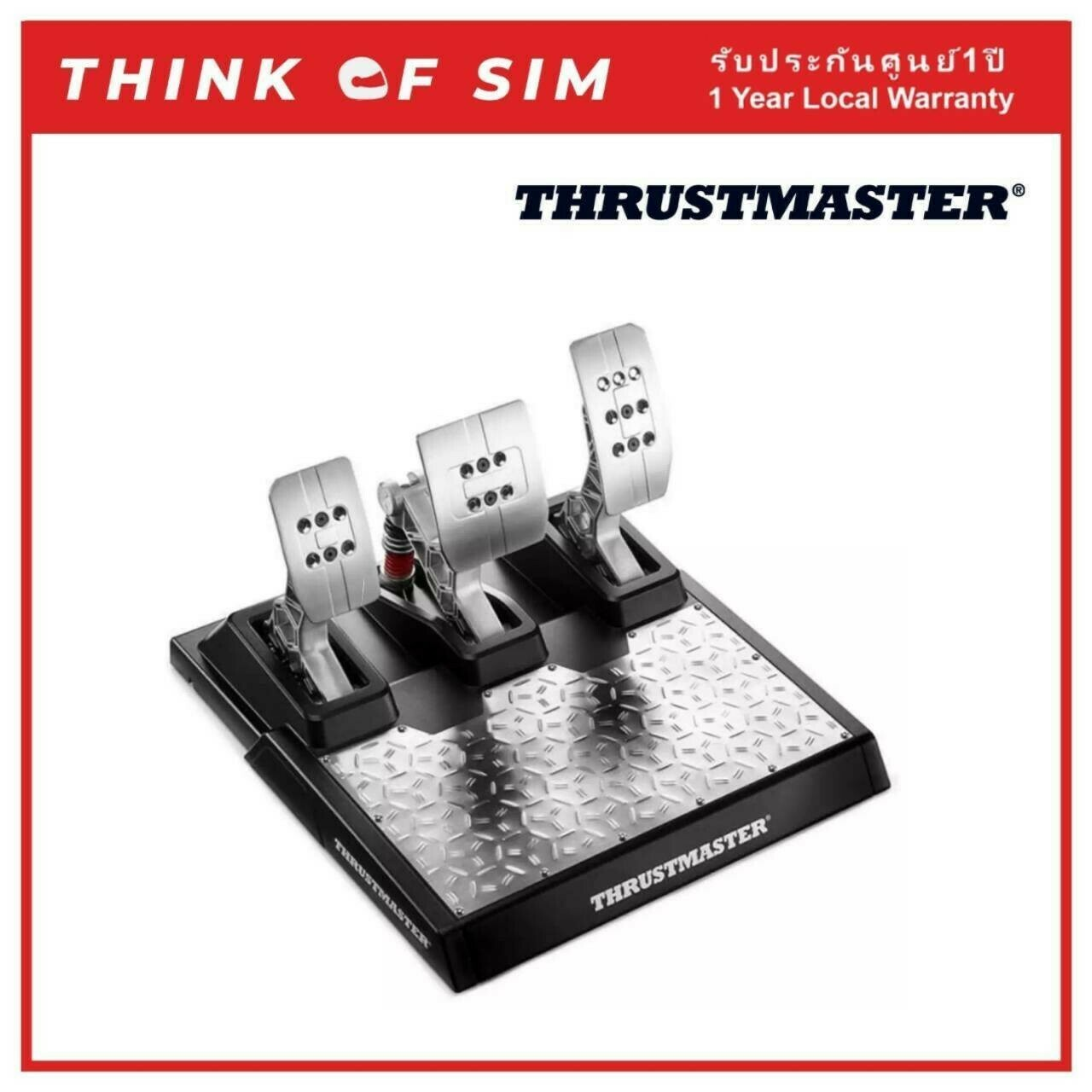Thrustmaster T-LCM Pedals with Loadcell For Sim Racing