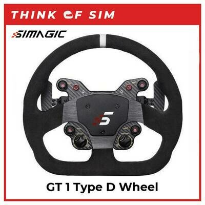 Simagic GT1 D Shaped Wheel with Quick Release