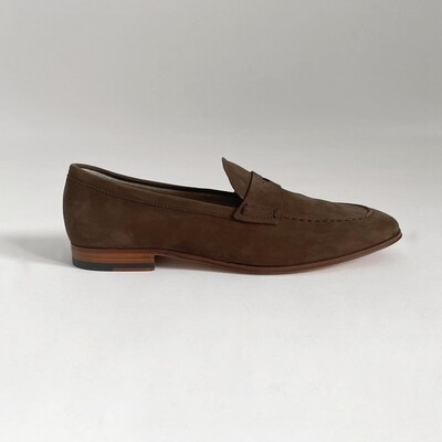 TOD'S Moccassin in Nubuck