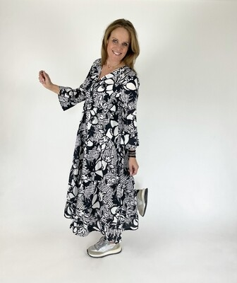 CALIBAN V-Neck Dress Rushes