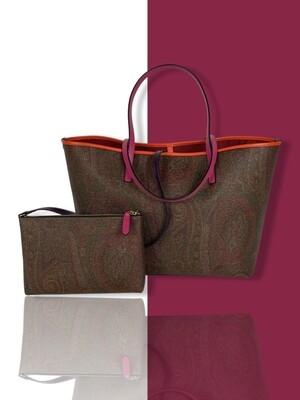 Etro Paisley shopping bag