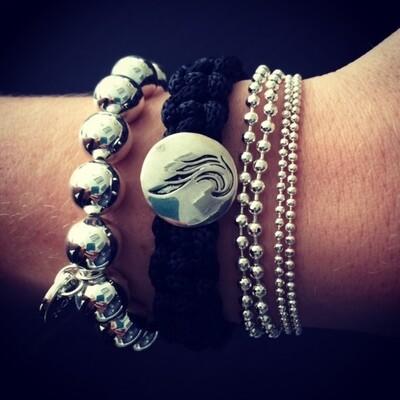 Unisex Survival Para Cord Angel Bracelet