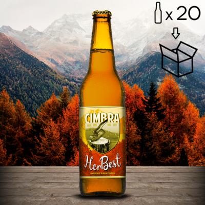 Cartone Herbest Birra Cimbra 20 bott. da 0,50 lt.