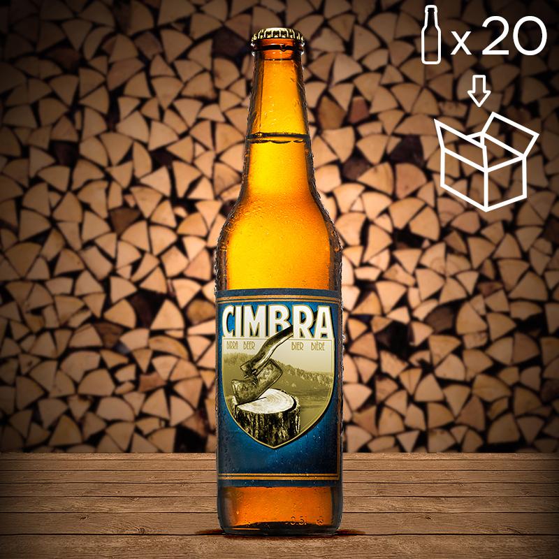 Cartone Birra Cimbra 20 bott. da 0,50 lt.