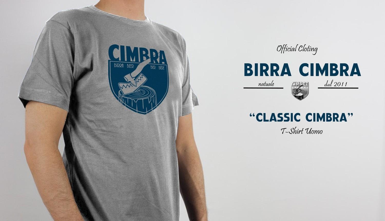 "T-Shirt Cimbra ""Classic"" Uomo"