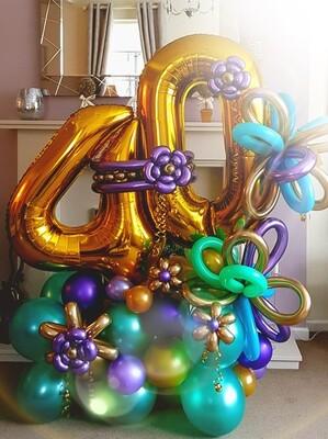 Birthday Numbers Design DELUX
