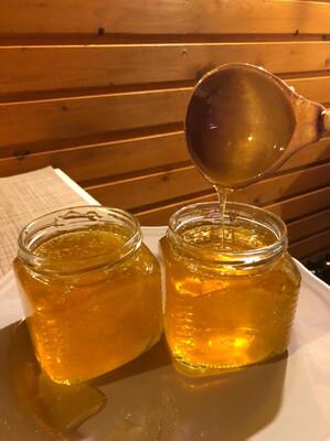 Мед с малиново-клубничных полей (530гр)