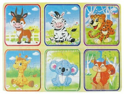 WOODEN PUZZLE - ANIMALS