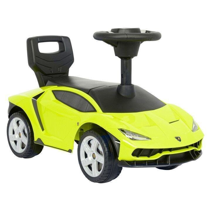 Lamborghini ride-on walker pusher steer wheels