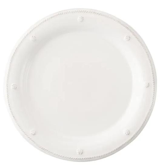 JULISKA Dessert/Salad Plate Whitewash BERRY & THREAD