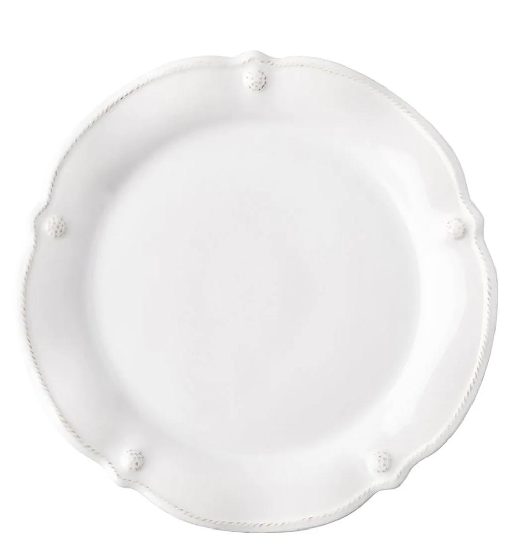 JULISKA Flared Dessert/Salad Plate BERRY & THREAD