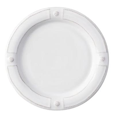 JULISKA French Panel Dinner Plate, Whitewash BERRY & THREAD