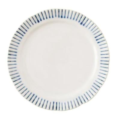 "JULISKA Salad Plate, 9"" SITIO STRIPE"