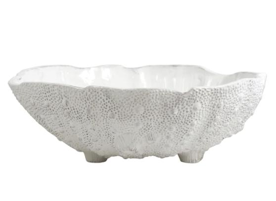 VIETRI Acquatico White Sea Urchin Large Bowl