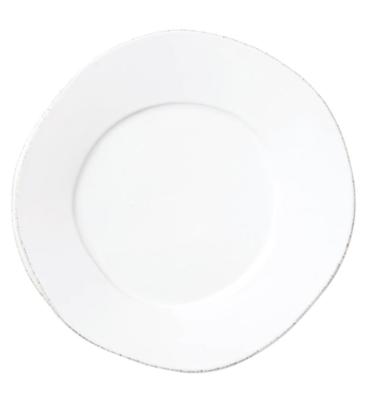 VIETRI White Dinner Plate LASTRA