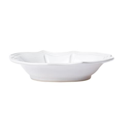 VIETRI White Baroque Pasta Bowl INCANTO STONE