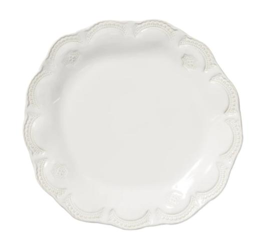 VIETRI White Dinner Plate INCANTO STONE