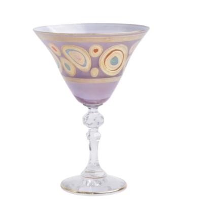 VIETRI Purple Martini REGALIA