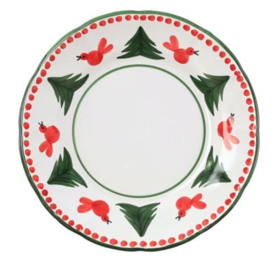 VIETRI Dinner Plate UCCELLO ROSSO