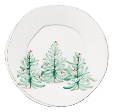 VIETRI European Dinner Plate LASTRA HOLIDAY
