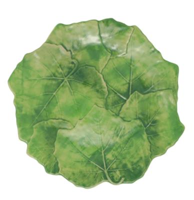 VIETRI Foglia Stone Green Dinner Plate SFFA-1100