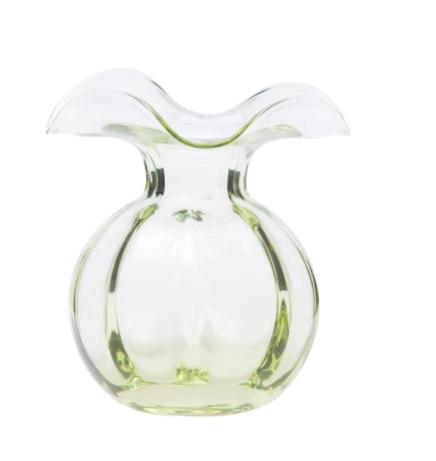 VIETRI Hibiscus Bud Vase GREEN HBS-8580G-GB