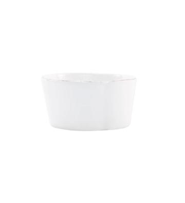 VIETRI Melamine, White Condiment Bowl LASTRA