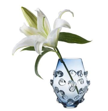 """JULISKA Vase, 6"""" Blue, FLORENCE"""