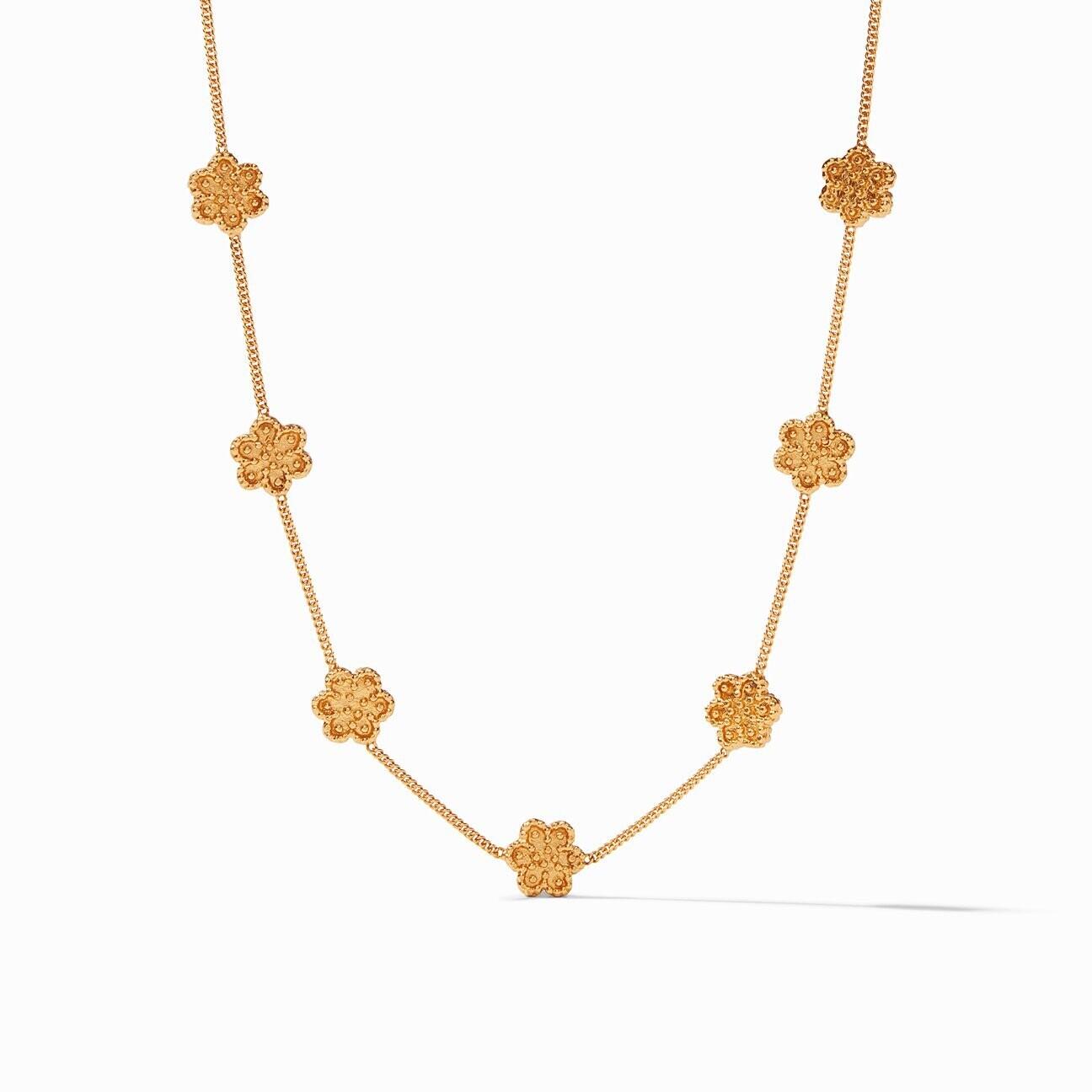 JULIE VOS Colette Delicate Station Necklace
