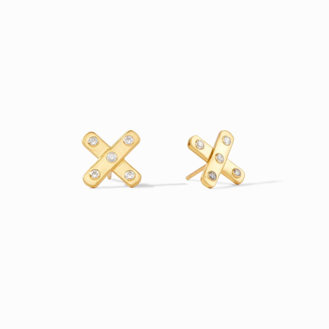 JULIE VOS Paris X Stud Earring