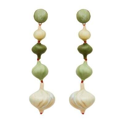 JULIE COHN Pagoda Clay Earring