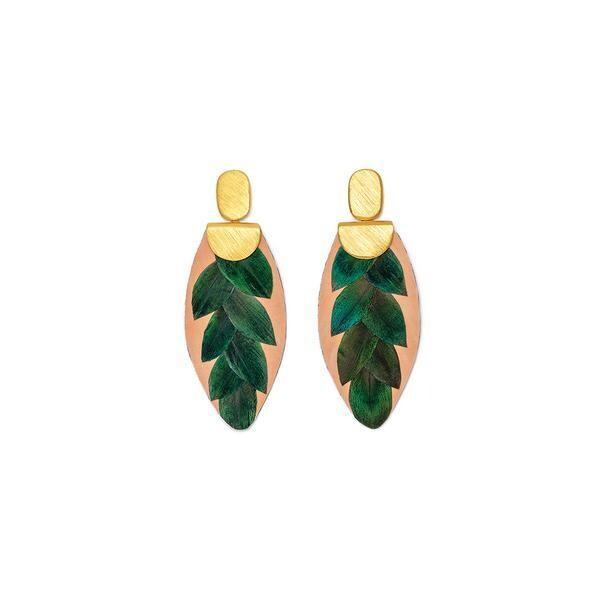 BRACKISH Verde Drop Earrings