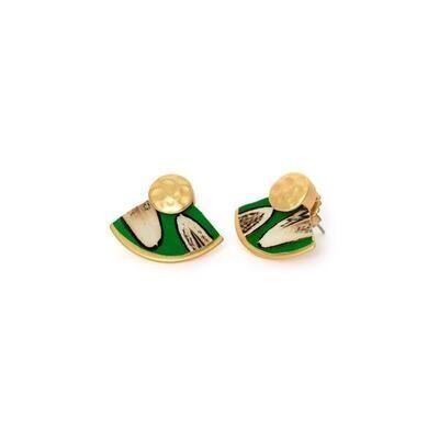 BRACKISH Oakleaf Stud Earring