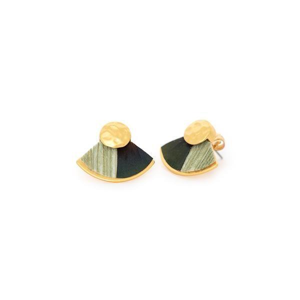 BRACKISH Spruce Stud Earring