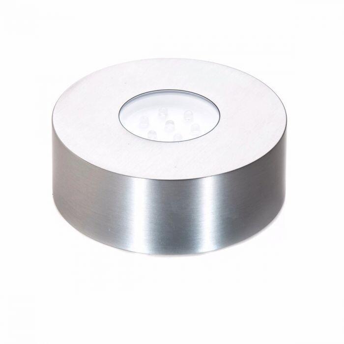 SIMON PEARCE Rechargeable LED Light, Stainless Steel, LG 9270