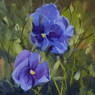 ANNE McNALLY Pansy Pals