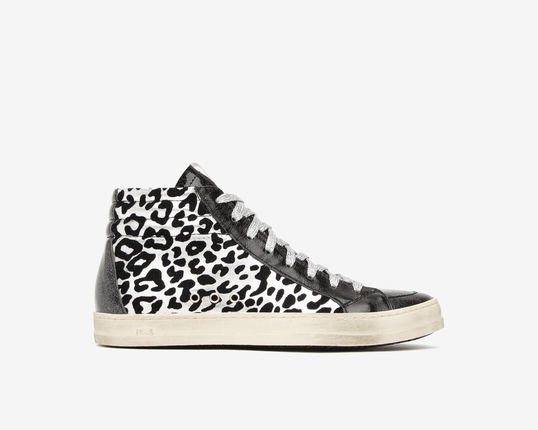 P448 Skate Leopard/Velvet Sneaker