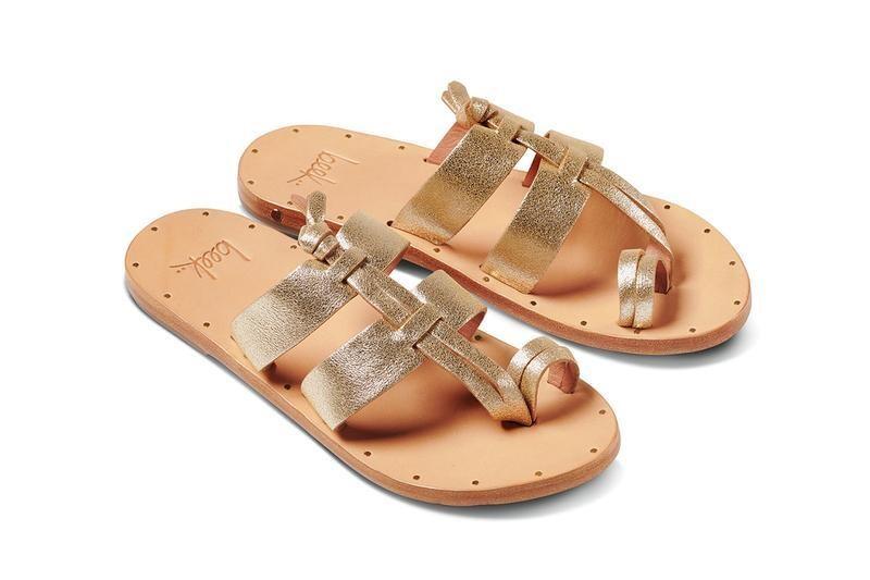 BEEK Platinum Honey Kokako Sandal