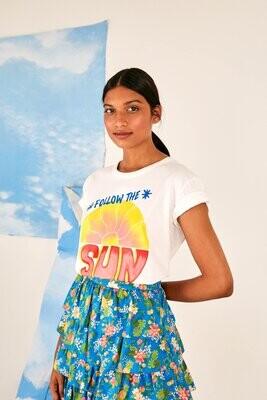 FARM RIO 'Follow The Sun' T-Shirt