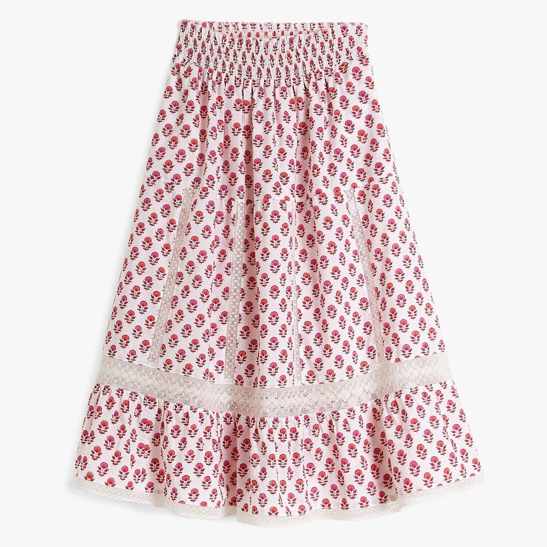 PINK CITY PRINTS Strawberry Fields Cienna Skirt