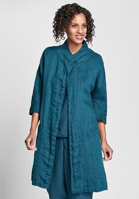 FLAX Stepping Out Jacket - Zircon