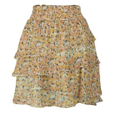 ESQUALO Skirt Ruffle Bouquet