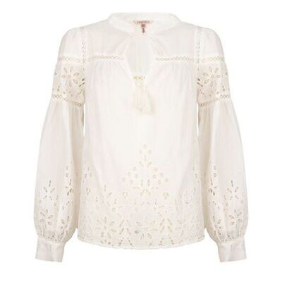 ESQUALO Blouse Broderie Anglaise