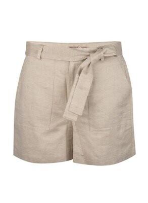 ESQUALO Linen Metallic Shorts