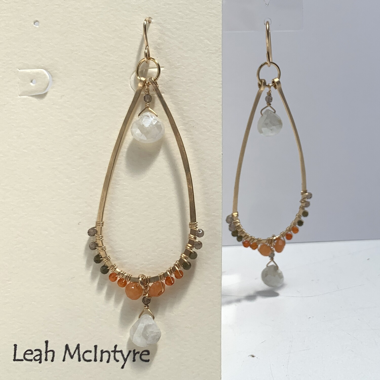 LEAH McINTYRE Cat's Eye Earring