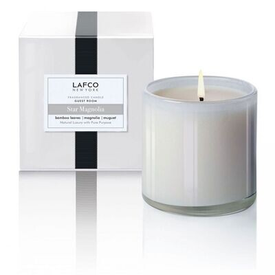 LAFCO Guest Room Candle (Star Magnolia)