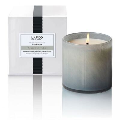 LAFCO Media Room/Spike Lavender Candle,