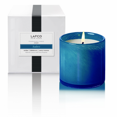 LAFCO Study Candle (Amber)