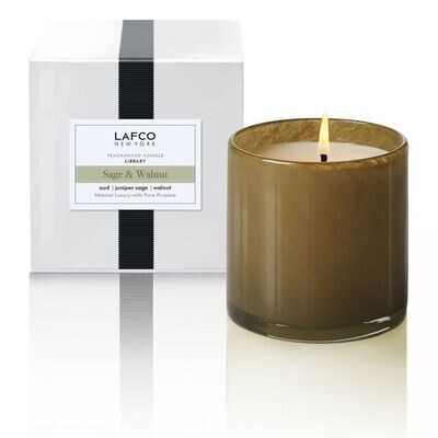 LAFCO Library Candle (Sage & Walnut)
