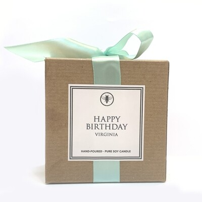 ELLA B. CANDLES - Happy Birthday Candle